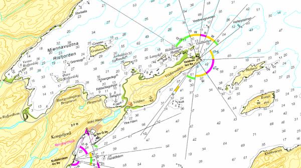 Seekarten über Norgeskart