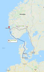 Anreise Google Maps Bömlo